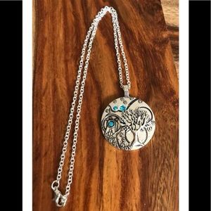 Jewelry - Brand New steampunk tree of life necklace
